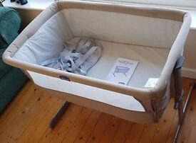 Chicco Next2Me Baby Crib (Grey)