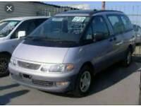 Toyota Estima 4x4 spacious 7 seater