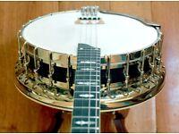 1928 Bacon & Day Silver Bell N0.2 Tenor Banjo