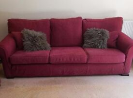 Multi York Sofa x 2 and Chair