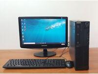 Lenovo PC Computer Windows 10, Intel Pentium 8GB RAM & 500GB HDD