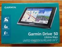 """Garmin Drive 50, United Kingdom & Ireland maps. LM 5"""""""