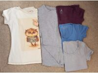 Lot of 5 t-shirts only £15! Size 8