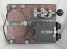 Original 1943 Morse Code Key Buzzer Signal Training Patterson Lakes Kingston Area Preview