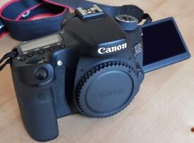 Canon EOS 70D 20.2MP Digital SLR Camera - (Body Only)