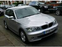 BMW 120 D SE 2006 AUTOMATIC 5 DOOR FULL HISTORY