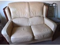 Free leather sofa must gone by tomorrow
