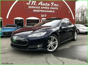 2014 Tesla Model S85 KWH Toit ouvrant panoramique, Sys. son HiFi