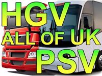 TRANSPORT MANAGER WANTED – ALL OF UK – CPC HOLDER REQUIRED – HGV or PSV
