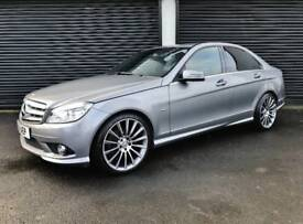 2011 MERCEDES C220 CDI SPORT BLUEEFFICIENCY AUTO NOT BMW 320D M SPORT AUDI A4 A5 A6 S LINE GOLF LEON