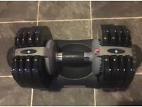 One Men's Health Adjustable Dumbbell 5-32kg