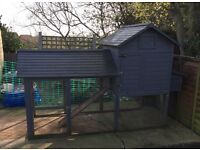 Chicken house/coop and run