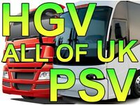 TRANSPORT MANAGER REQUIRED – ALL OF UK – CPC HOLDER WANTED – HGV or PSV –NO EXPERIENCE
