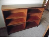 SOLID WOOD BOOKCASE - WITH REMOVABLE AND ADJUSTABLE SHELVES