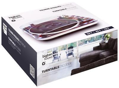 Bigben Interactive - Plattenspieler TD120 - USA USB Cinch MP3 Encoder 33/45/78