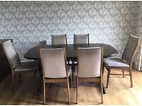 High-Quality Dansk design Dining Table + Chairs