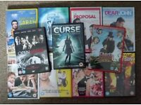 Bundle of 11 DVDs Horror Comedy and Romance