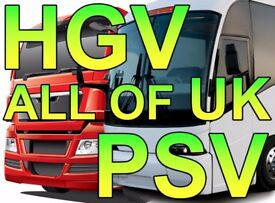 TRANSPORT MANAGER REQUIRED – ALL OF UK – CPC HOLDER WANTED – HGV or PSV – NO EXPERIENCE