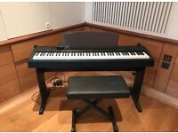 Yamaha Electronic Piano P60 + Leather Stool