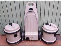 2 fresh water 40L Aquarolls & 38L Wastemaster,
