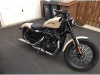 Harley Davidson XL Iron 883 - Denim Sand Camo (Low Miles)