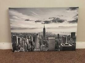 Empire State Building canvas