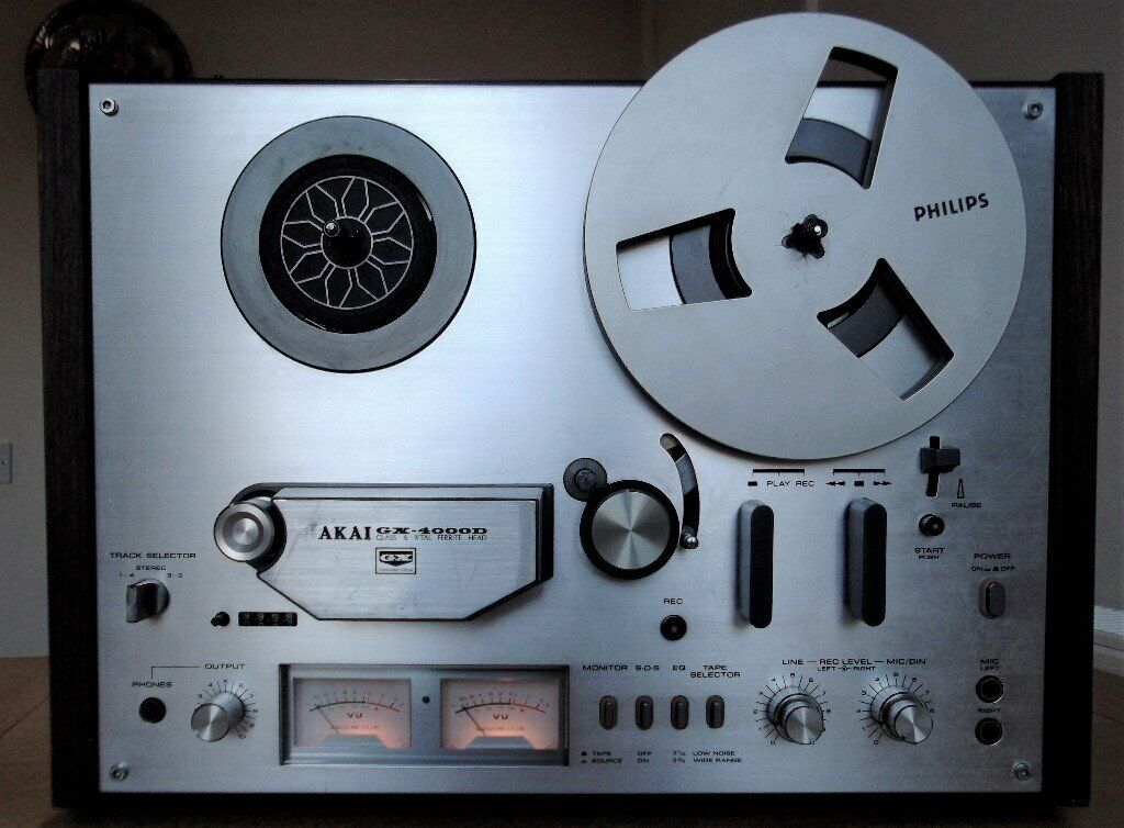 Cassette AIWA Reel to Reel Silver