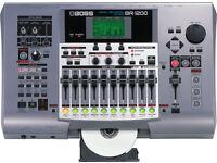 Boss home studio BR1200CD mint condition.