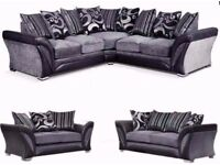 🔥💥💖CHEAPEST PRICE💥💖Brand New SHANNON Corner Or 3 + 2 Sofa, SWIVEL CHAIRS, Universal corner Sofa