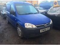 VAUXHALL COMBO 2006 (06 PLATE) 1.3 CDTi 2000 5 SPEED, BREAKING FOR SPARES