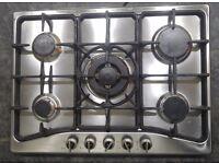 5 burner gas hob 68x50cm