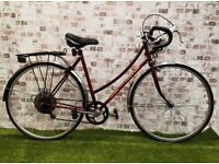 Vintage Classic Peugeot City Road Bike Bicycle Good Condition