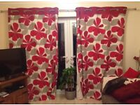 Next eyelet curtains approx 90 x 90 great condition