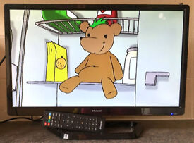 22 Inch Polaroid HD LCD LED Digital TV Television With Freeview HDMI Full HD screen
