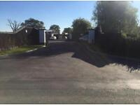 Open air storage yard with new office, approx. 300m2 to rent Maidenhead Berkshire