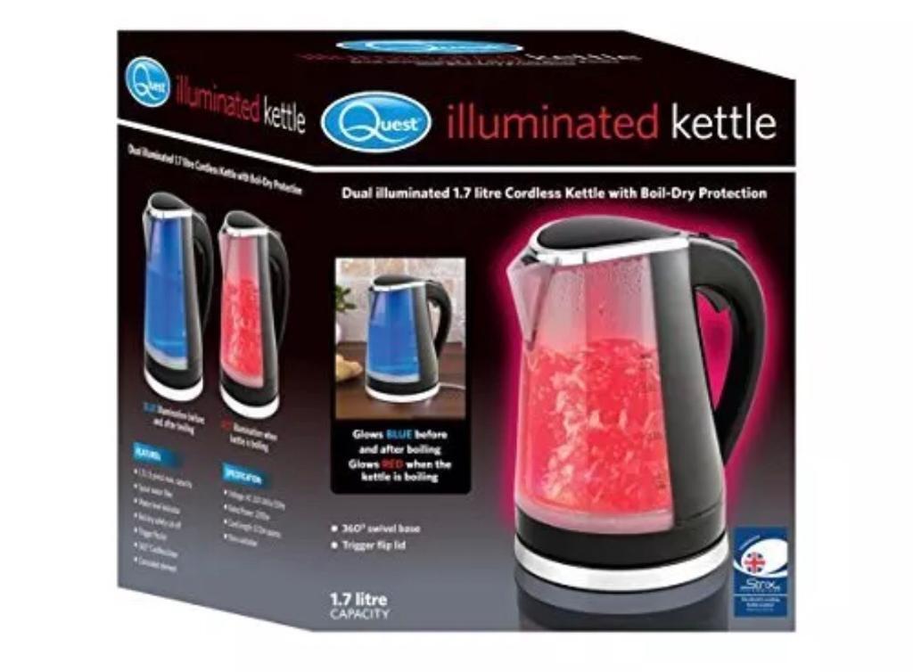 Kettle illuminated brand new