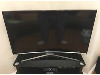 SAMSUNG 48INCH CURVED LED TV