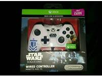 star wars rogue one wired controller brand new