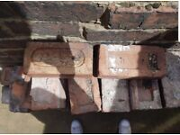 Reclaimed Bricks. 110 years old.