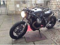 Moto Guzzi Stelvio CAFE RACER!!