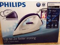 Philips Speed Care Steam Generator Iron - 120 g Steam Boost, 1.2 L, 240