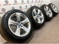 """GENUINE 19"""" BMW X5 ALLOY WHEELS - 5 x 120 - CRYSTAL SILVER FINISH"""
