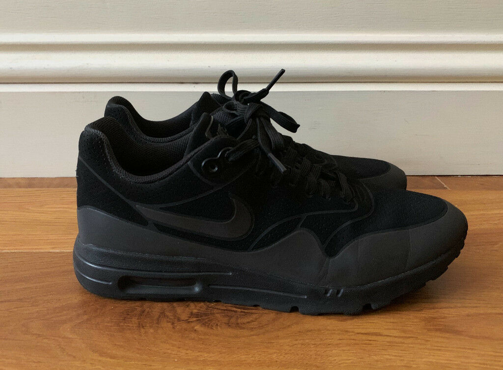 separation shoes 690aa 50d98 Nike Air Max 1 Ultra Moire Triple Black Women s Shoes Trainers   in  Cricklewood, London   Gumtree