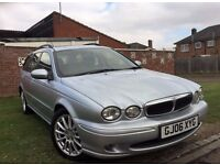 Jaguar X-Type 2.0D S 5dr 2006 (06 reg),Estate Manual 1998cc Diesel+Full Service History+MOTJune 2017