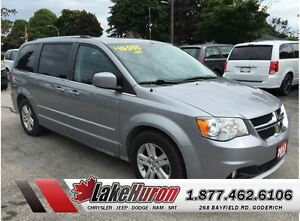 2013 Dodge Grand Caravan Crew *Rear Heat & Air*