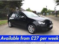Volkswagen Golf (3 Door A3 A4 Leon Jetta 320d Passat) £27 per week