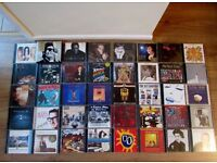 45 X CDS VARIOUS ARTISTS, VGC