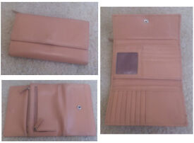 Leather purse/ wallet (women's/ teenagers') (Golunski, TK Maxx)