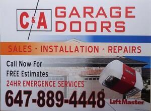 Garage Door Repair & Services *Best Price* 647.889.4448