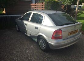 1999 Vauxhall Astra 1.6 Auto 126,000mls